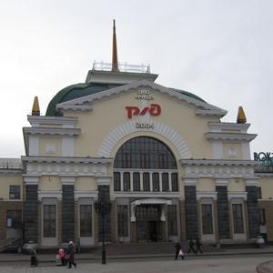 Железнодорожные вокзалы Унъюгана